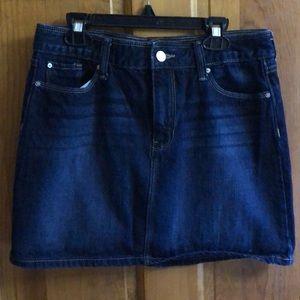 Gap Denim Skirt, size 4